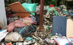 """Hà Nội: """"Lá phổi xanh"""" sắp thành bãi rác """"khổng lồ"""""""