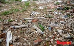 Hà Nội: Công trường xây dựng biến thành tụ điểm tiêm chích ma túy