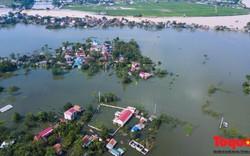Tình trạng ngập lụt kéo dài tại Chương Mỹ có phải do xả lũ hồ Hòa Bình?