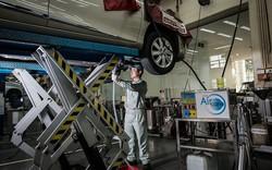 TMV đón nhận 10.000 lượt xe vào làm vệ sinh giàn lạnh điều hòa chính hãng