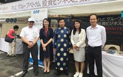 Hai doanh nghiệp Việt - tham dự lễ hội Việt Nam 2017 tại Nhật Bản