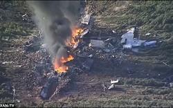 Máy bay quân sự Mỹ gặp nạn, 16 người thương vong