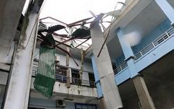 Hà Tĩnh: Bệnh viện Đa khoa thị xã Kỳ Anh tan hoang sau cơn bão số 10