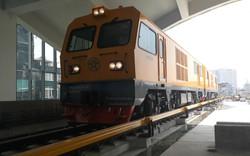 Hà Nội chạy thử tàu đường sắt trên cao Cát Linh - Hà Đông