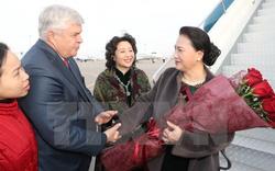 Chủ tịch Quốc hội Nguyễn Thị Kim Ngân bắt đầu thăm Kazakhstan