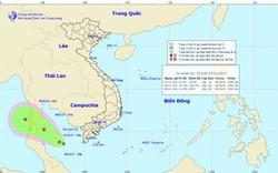 Xuất hiện áp thấp nhiệt đới, Kiên Giang, Cà Mau có mưa dông lớn