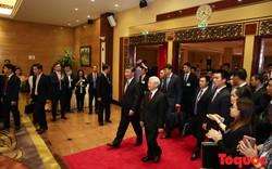 Tổng Bí thư Nguyễn Phú Trọng chủ trì tiệc chiêu đãi trọng thể chào mừng Tổng Bí thư Tập Cận Bình