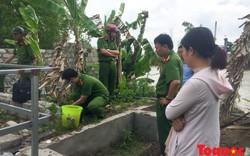 Bắt quả tang cơ sở không giấy phép kinh doanh chôn ống xả thải ra môi trường