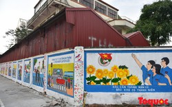 Thêm một địa điểm check- in phố bích họa tại Hà Đông