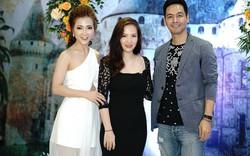 Đan Lê xuất hiện xinh đẹp bên Phan Anh