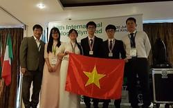 Đoàn học sinh Việt Nam giành 3 Huy chương trong kỳ thi Olympic Sinh học quốc tế