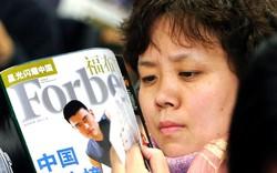 Siêu giàu Trung Quốc đang tăng vọt
