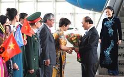 Những hình ảnh đầu tiên của Thủ tướng Nguyễn Xuân Phúc tại Mỹ
