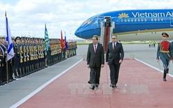 Góc nhìn truyền thông Nga về hội đàm giữa Chủ tịch Trần Đại Quang với Tổng thống và Thủ tướng Nga