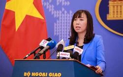 Người phát ngôn Bộ Ngoại giao phản ứng việc Trung Quốc xây rạp phim trên đảo Phú Lâm