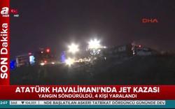 Máy bay cháy dữ dội, sân bay Thổ Nhĩ Kỳ hủy hàng loạt chuyến bay
