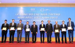 Công bố 31 nhà tài trợ cho Năm APEC 2017