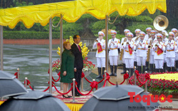 Chủ tịch nước Trần Đại Quang chủ trì lễ đón chính thức Tổng thống Chile