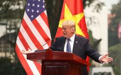Báo chí quốc tế đồng loạt đăng tải Tổng thống Trump tại Việt Nam