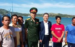 Thành công đưa năm ngư dân và tàu cá Phú Yên từ Philippines về nước