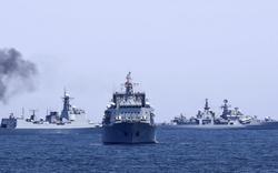 Tàu chiến Nga đổ bộ Biển Bering: Thực lực thật sự tại Vostok 2018