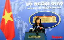 Việt Nam lên tiếng về việc các quốc gia tập trận bắn đạn thật tại Biển Đông