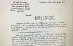 UBND TP Quy Nhơn đã có động thái gì sau phản ánh của Báo Tổ Quốc?