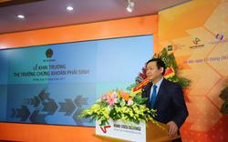 Phó Thủ tướng trực tiếp bấm nút khai trương thị trường chứng khoán phái sinh