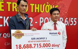 Một khách hàng không đeo mặt nạ nhận 16,8 tỷ đồng giải Vietlott