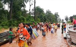 50 tấn gạo, 100.000 gói mì tôm… đến người dân bị ảnh hưởng vỡ đập thủy điện Lào