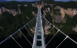 Trung Quốc: Khánh thành cầu kính dài nhất thế giới
