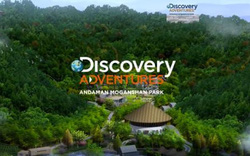 Discovery khai trương công viên mạo hiểm đầu tiên trên thế giới