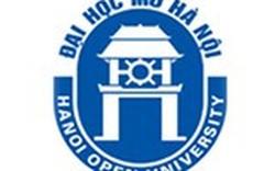 Thí điểm đổi mới cơ chế hoạt động của Viện Đại học Mở Hà Nội