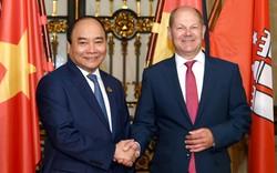 Thủ tướng Nguyễn Xuân Phúc gặp Thủ hiến, Thị trưởng bang Hamburg