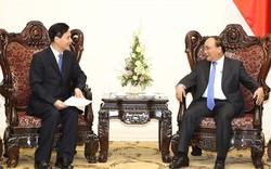 Thủ tướng Nguyễn Xuân Phúc tiếp lãnh đạo một số tập đoàn Trung Quốc