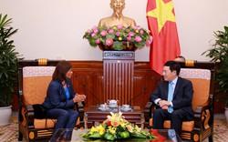 Phó Thủ tướng Phạm Bình Minh tiếp Đại sứ Timor Leste