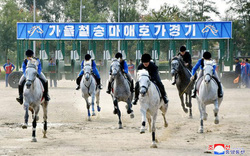 Triều Tiên cho phép đặt cược đua ngựa
