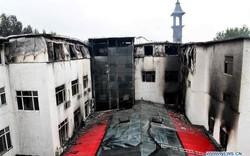 19 người thiệt mạng vì cháy khách sạn ở Trung Quốc