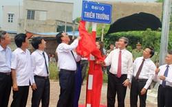 Nam Định gắn biển Đại lộ Thiên Trường