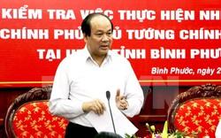 Tổ công tác của Thủ tướng Chính phủ làm việc tại Bình Phước