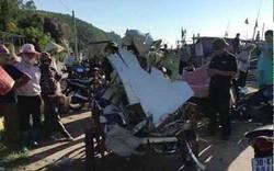 Tàu ngư dân Thanh Hóa vớt được nhiều mảnh vỡ máy bay Casa 212
