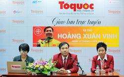 Xạ thủ Hoàng Xuân Vinh trả lời hàng loạt câu hỏi của độc giả Báo điện tử Tổ Quốc