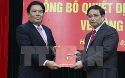 Công bố Quyết định của Bộ Chính trị phân công nhân sự cấp cao