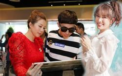 Hari bận làm phim, Trấn Thành đi uống trà sữa cùng Hoa hậu Thu Hoài