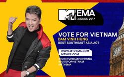 Đàm Vĩnh Hưng đại diện Việt Nam tại bảng Best Southeast Asia Act thuộc MTV EMA 2017