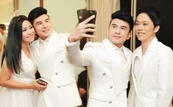 Đan Trường tranh thủ chụp ảnh 'tự sướng' từ Hoài Linh tới Phương Thanh trong hậu trường