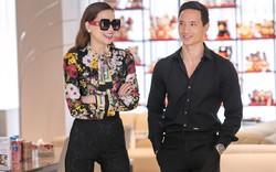 Hồ Ngọc Hà cười hạnh phúc bên cạnh bạn trai mới Kim Lý