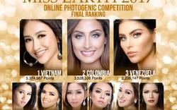 Miss Earth 2017: Hà Thu tiếp tục giành Huy chương Vàng thứ 3