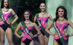 Chung kết Miss Earth 2017: Hà Thu không thể tiến xa hơn Top 16