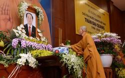 500 tăng ni, phật tử ở TP HCM tưởng niệm Chủ tịch nước Trần Đại Quang